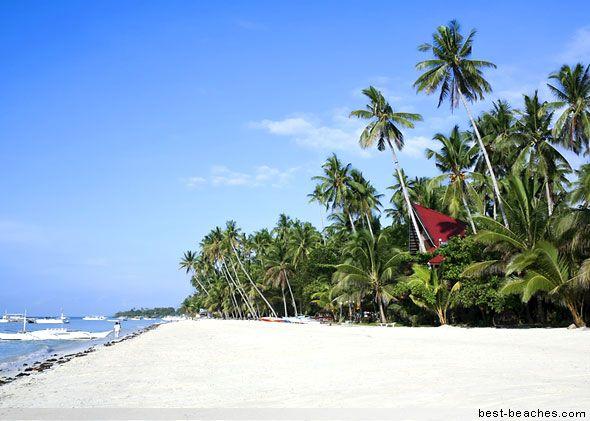 White Beach  Boracay Island is called the Beach Capital of the Philippines