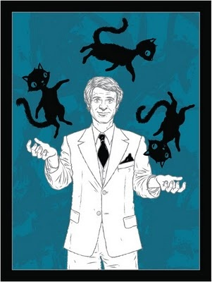 Juggling Cats with Steve Martin