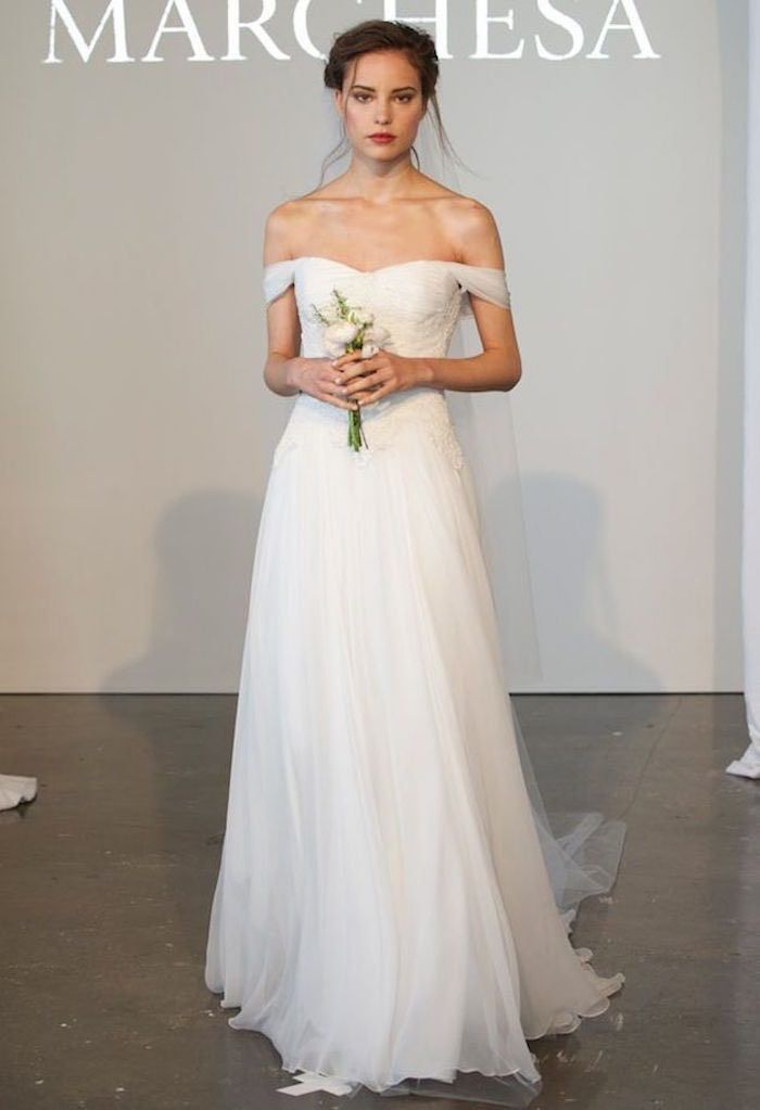 Sexiest Off The Shoulder Wedding Dresses - MODwedding