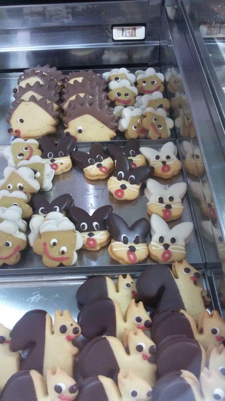 biscotti di cake design. Foto di Anna Goffi