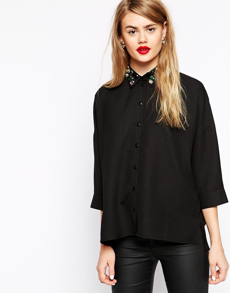 Pin by OOTD Magazine on OOTD Magazine | Oversized blouse ...
