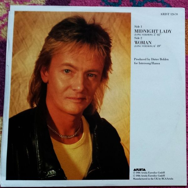 Chris Norman - Midnight Lady at Discogs