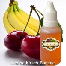 Liquid ohne Nikotin Aroma Kirsch-Banane To learn more about ejuice go here: fractaleliquid.com