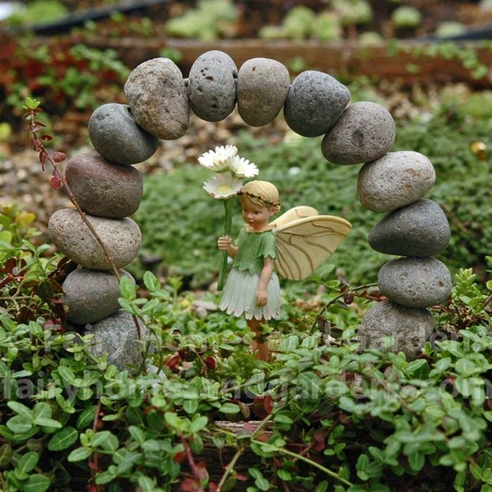 Fairy Homes and Gardens - Miniature Stone Archway, $16.99 (http://www.fairyhomesandgardens.com/miniature-stone-archway/)