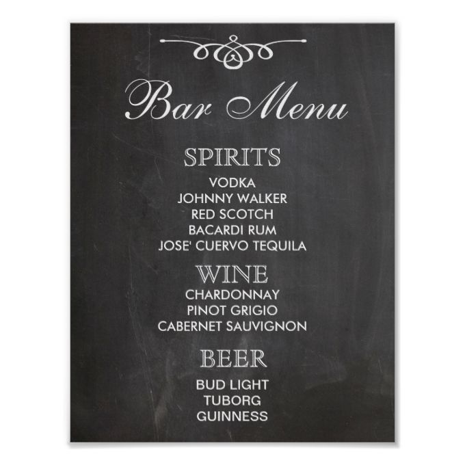 2481 best Wedding Menu Templates images on Pinterest Menu - bar menu template