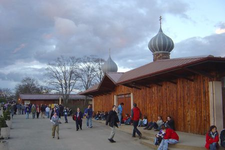 The Church of Reconcilliation--Taizé, France