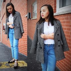 MC Y - New Chic Leaf Necklace, New Chic Lace Up Flats - Winter Casual