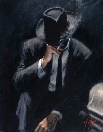 Buenos Aires Night (Oversize Canvas) by Fabian Perez                                                                                                                                                                                 Plus