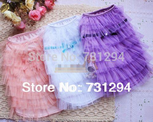 Животное рубашки одежда для животных собака жилет одежда для собак pet products новый платье принцессы милый pet dog юбка юбка торт юбка.