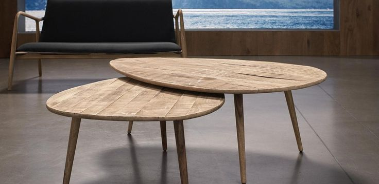 Set of 2 nest coffee tables, made from Mango and sheesham wood with a honey rustic finish. Set of 2 lamp tables also available.