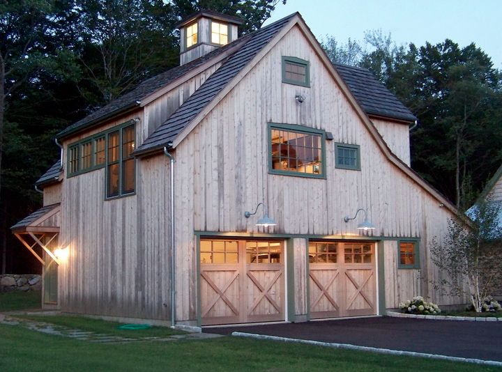 Photos of barn style garages google search dream home for Barn style carport