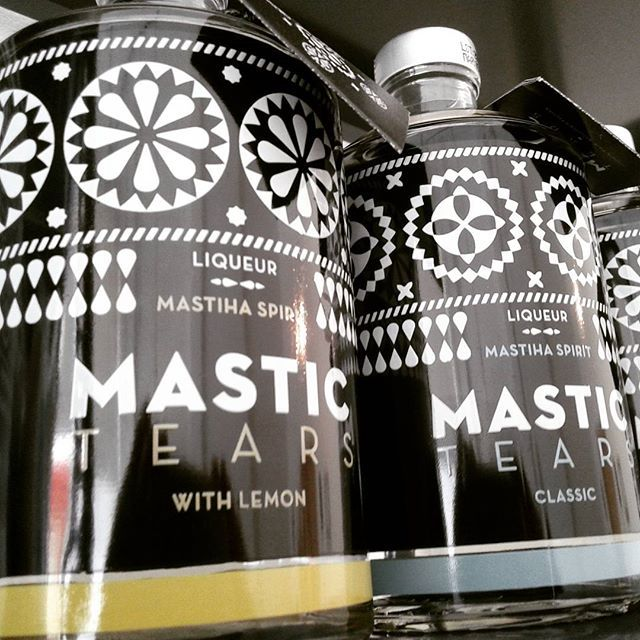 www.deliinabox.gr Mastic liqueur with lemon or still