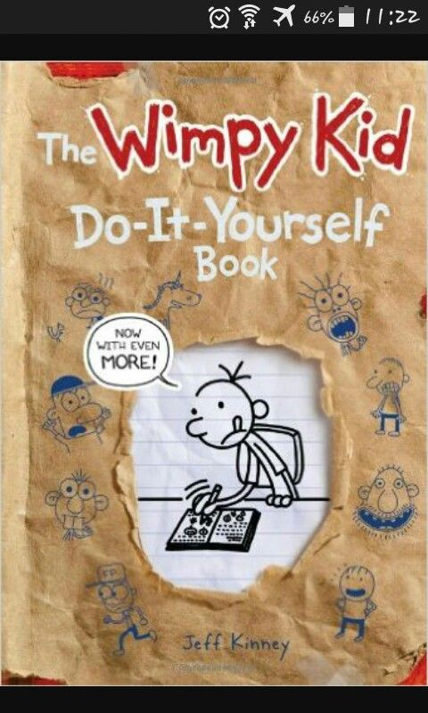 13 best wimpy kid books images on pinterest jeff kinney wimpy kid the wimpy kid do it yourself book diary of a wimpy kid series revised and expanded edition by jeff kinney hardcover by jeff kinney solutioingenieria Image collections
