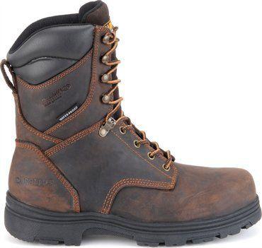 "Carolina Men's 8"" Steel Toe Waterproof Insulated Work Boots"