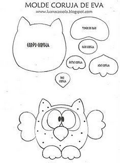 owl template... I'm making a lot of my classroom decor :) I'm definitely using this!!! So cute!