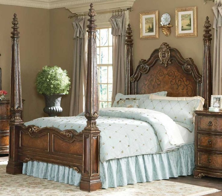 """<img src=""""http://c289915.r15.cf1.rackcdn.com/HO-please-call.jpg"""" width=""""550"""" height=""""50"""" /><br />Free Shipping. The Beladora collection of bedroom, dining, living room tables, home office and home entertainment furniture is the epitome of the grand European elegance many are looking for. Rich Caramel Finish with Gold Tipping. The elegantly carved footboard posts come in sections, allowing your choice of a low post configuration or a high post look. Overall Size: 84.75 in. W x 96.25 in. D x…"""