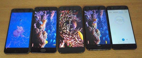 Xiaomi Mi 6 vs OnePlus 3T vs LG G6 vs Pixel XL — Test de Batterie
