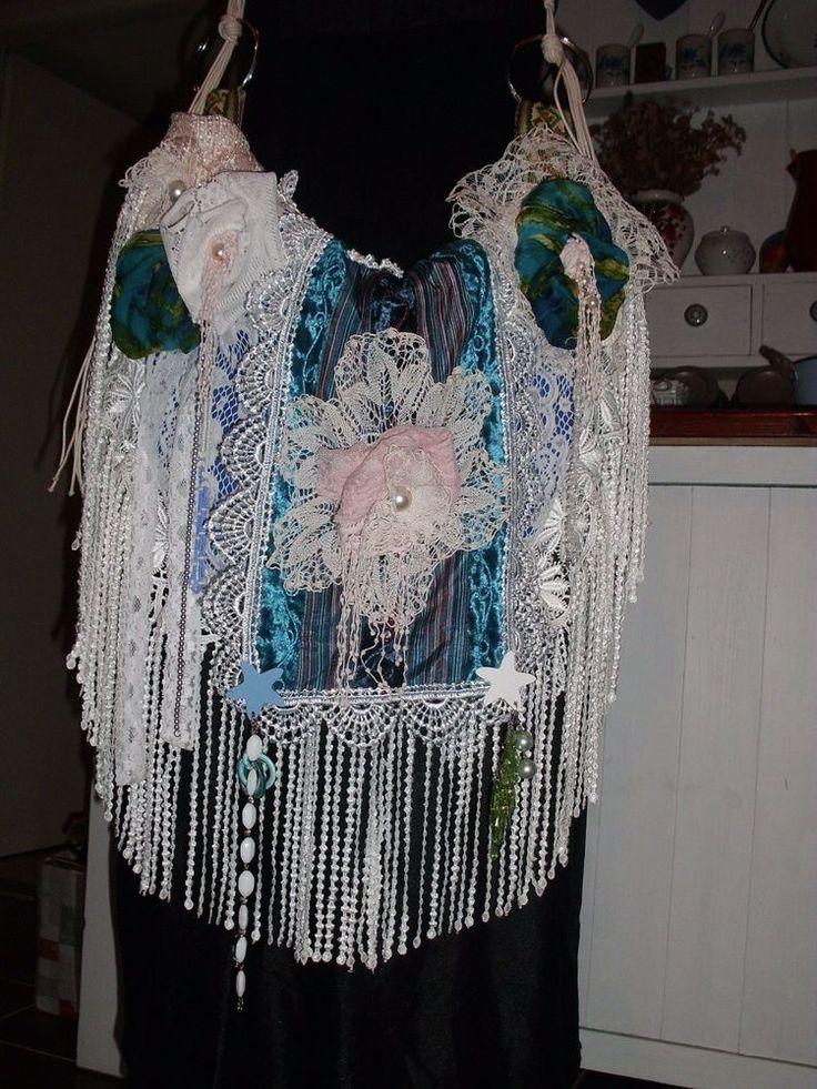 Handmade Handbag for Mermaid Boho Gypsy Hippie Silk Velvet Lace | Clothing, Shoes & Accessories, Women's Handbags & Bags, Handbag Accessories | eBay!