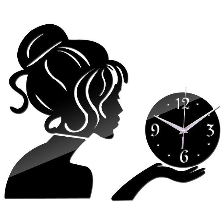 Neue Wanduhr Uhren Horloge Beobachten Wohnzimmer Quartz Needle Acryl Home Decoration 3d Diy