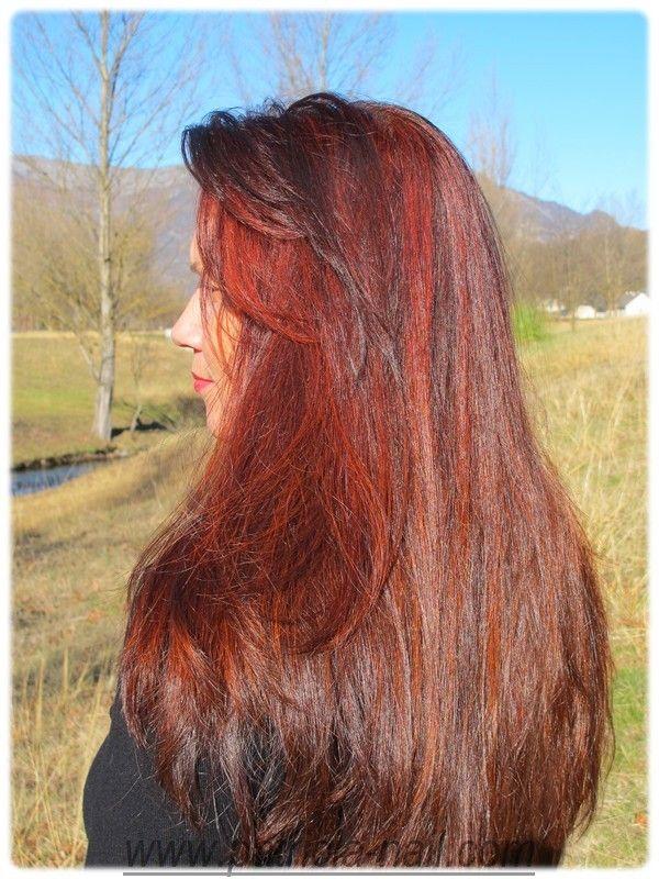 coloration rouge henn - Coloration Au Henn