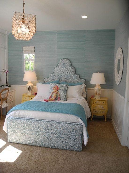 teenage girls bedroom ideas blue