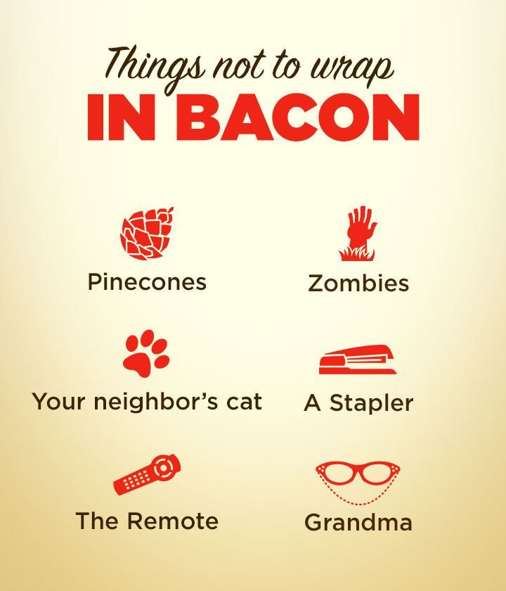 LOL! things not to wrap in bacon via @CreatrixHawaii: Laughing, Things Bacon, Funnies Pictures, Fair Games, Giggl, Bacon Bacon, Wraps Bacon, Funnies Stuff, Bacon Wraps