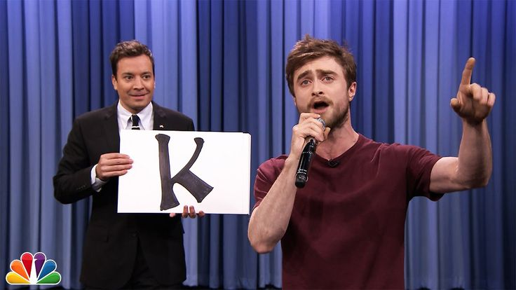 """During a recent episode ofThe Tonight Show, host Jimmy Fallon challenged actor Daniel Radcliffe to perform the Blackalicious song """"Alphabet Aerobics,"""" and Radcliffe steps up to the challenge exper..."""