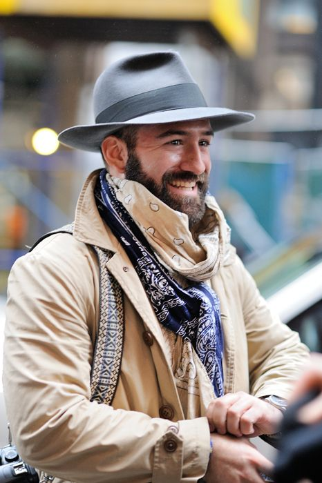 Men's scarf - Dandy and Dapper