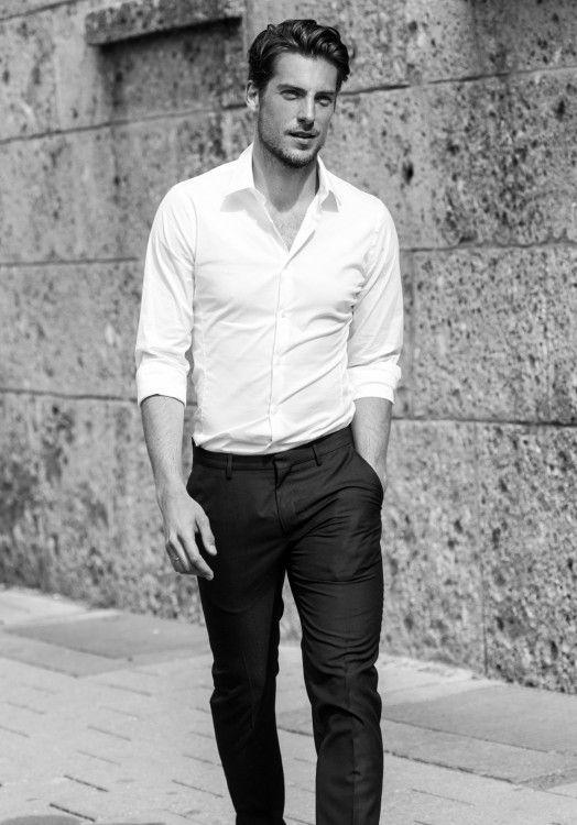 classy white shirts