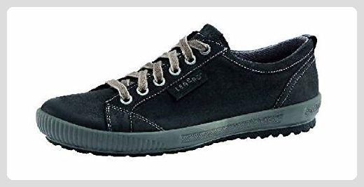 Legero Tanaro Damen Sneaker Nubuk, Farbe Schwarz Größe 6,5 UK - Schnürhalbschuhe für frauen (*Partner-Link)