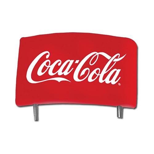 """Coca-Cola Logo-Design Vintage Pub Stool with Back Rest - 30"""""""