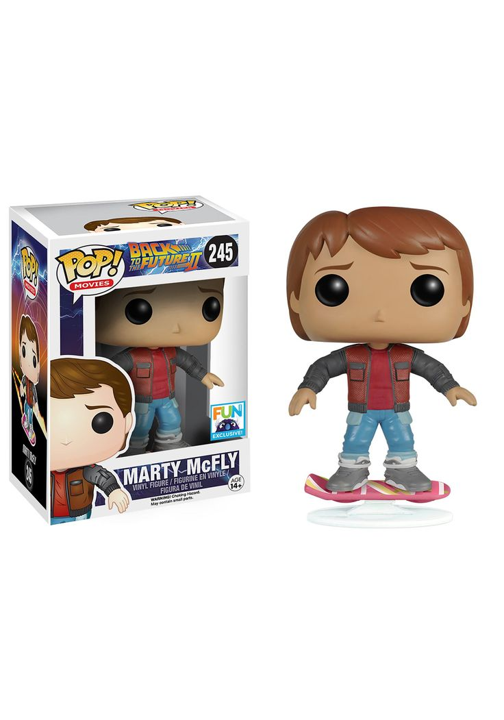 Funko POP! Marty McFly Back to the Future 2 Vinyl Figure