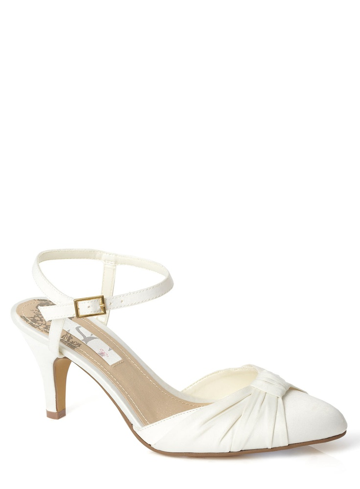 Ivory Wide Fit Shoe From Bhs GBP27