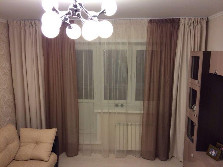 двойные шторы
