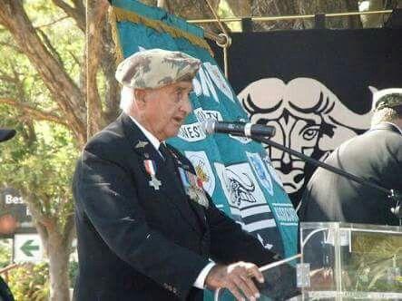 Col. Breytenbach, founder of 32 Battalion.
