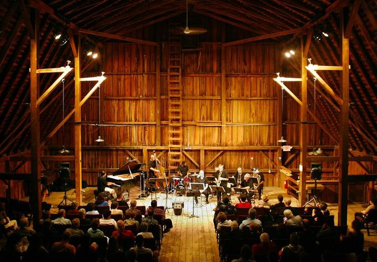 Imagine A Baroque Music Concert Venue In A Barn Built Here