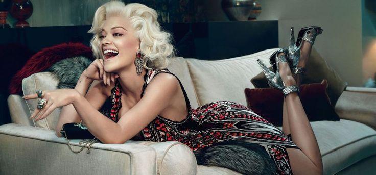 Rita Ora for Roberto Cavali