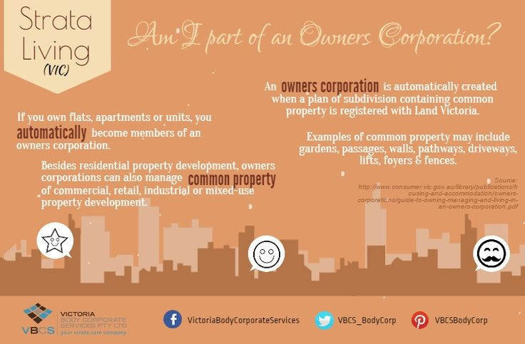 #Strata101: Am I part of an Owners Corporation? More info, http:www.vbcs.com.au #strata #vic #apartment