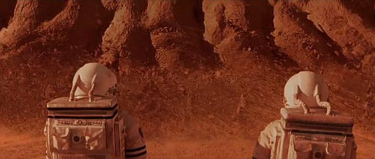 Mission to Mars di Brian De Palma, anno di produzione: 2000. (Addio ragazzi...)