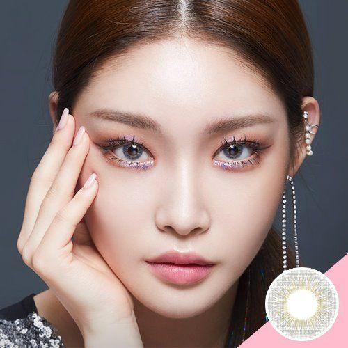 LENS TOWN Mystarry Gray (Chung-ha Lens) Soft Contact