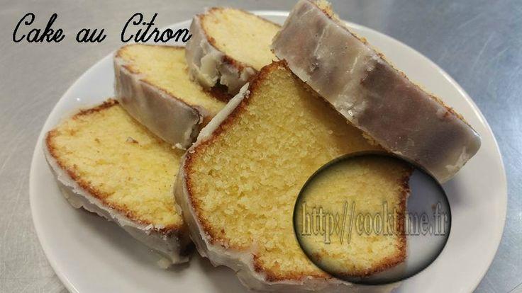 Cake au Citron ( au Thermomix )