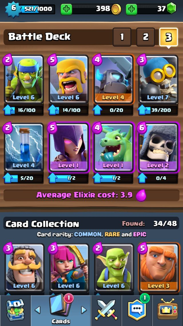 3256 best clash royale decks images on pinterest clash for Deck arc x arene 7