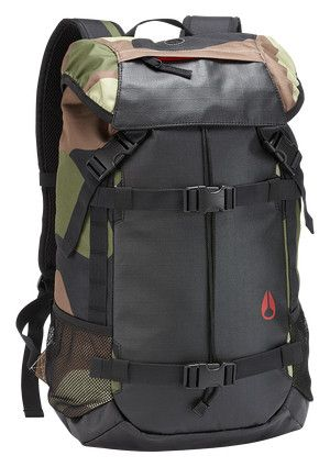 Landlock Backpack II - Woodland Camo | Nixon Mens Bags