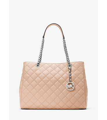 On SALE at 40% OFF! Susannah large quilted-leather tote by MICHAEL Michael Kors.