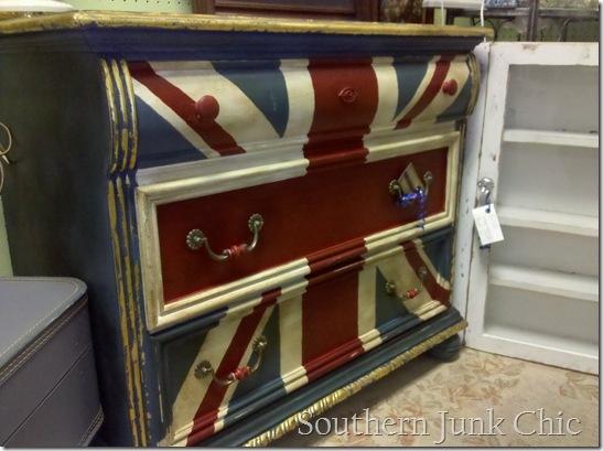 this one's a bit unique...Union Jack Dresser instruction on how to paint