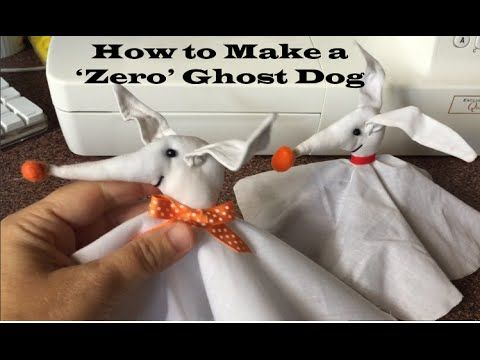 Zero from Nightmare Before Christmas (a Craft Tutorial) - YouTube