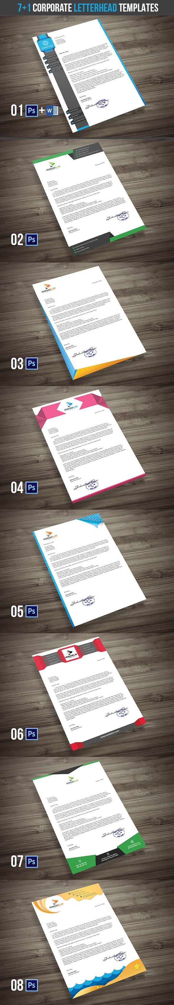 best 25 pany letterhead template ideas on pinterest