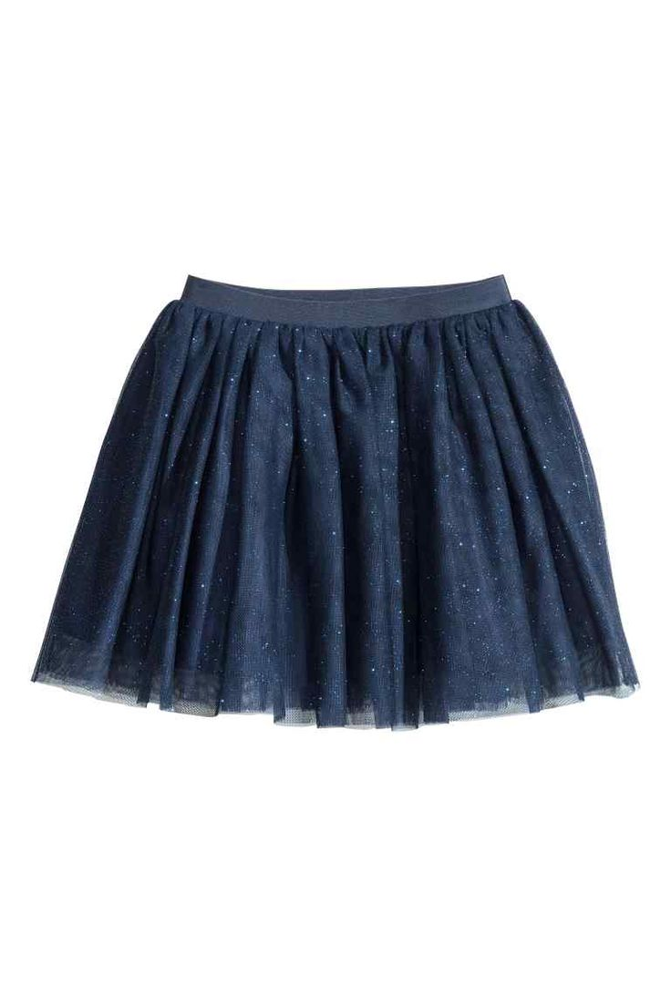 Tulle skirt with glitter | H&M
