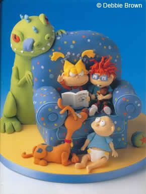Lovable Character Cakes