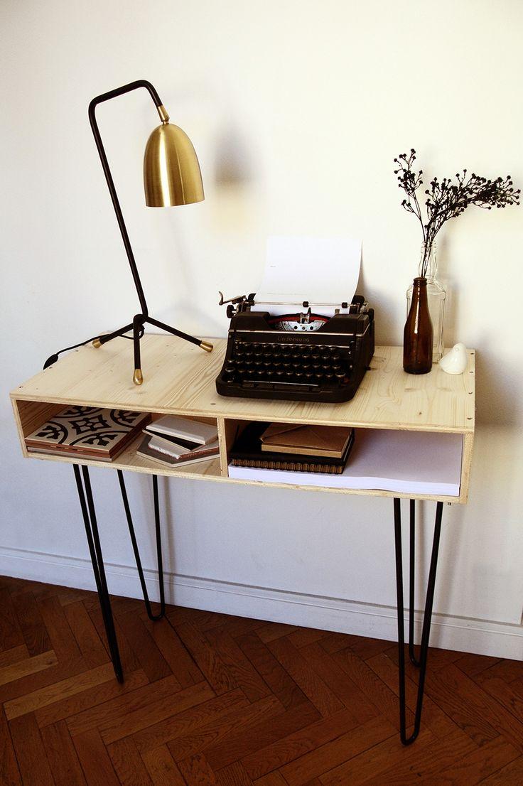 Console sur-mesure avec pieds épingles Ripaton, Mille et un Lieux, Marina…